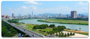 taiwan-taipei-city-danshui-river
