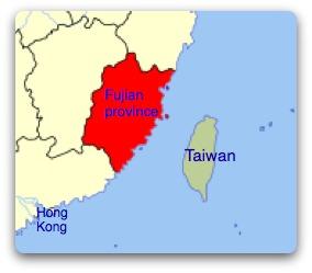 where-is-taiwan-fujian