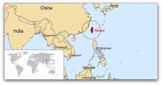 where-is-taiwan